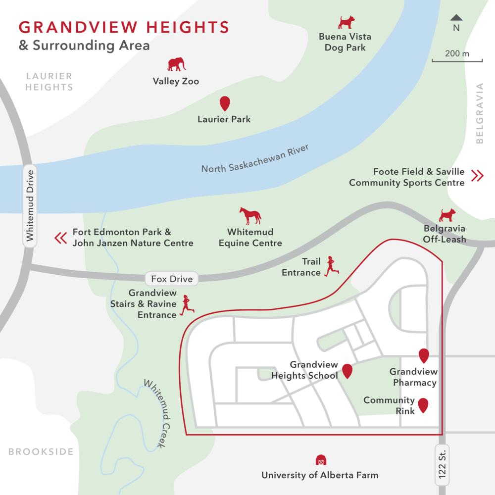 Kimberley Homes - Grandview Heights map